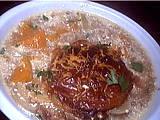 Recette Soupe de potiron au pain