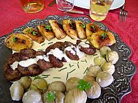 Image : Plat de rognons aux châtaignes
