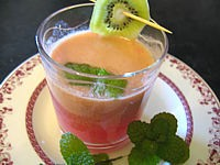 Recette Verre de thé aux fruits