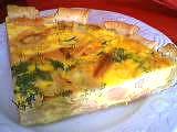 Recette Tarte au saumon