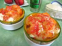 Recette Melon glacé à la liqueur de Chartreuse