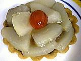 tartelettes : Tartelette aux poires rapides