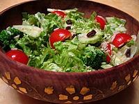 Recette Salade de batavia et riz