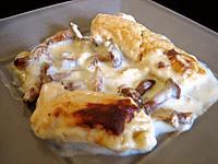 truite : Assiette de quenelle de truite
