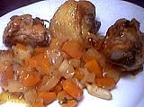 Poulet aux carottes