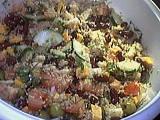 Recette Salade au quinoa et aux fromages