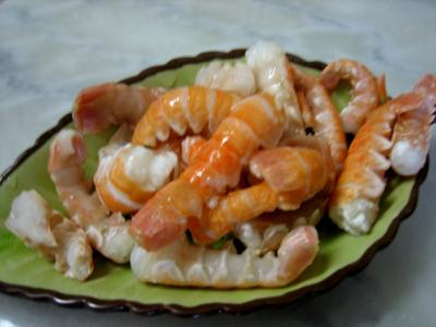 Photo : Scampis ou langoustines