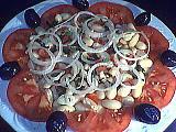haricots blancs : Assiette de salade de haricots blancs