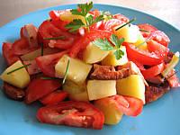 Image : recette Restes de saucisses et de cervelas en salade