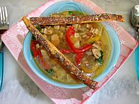 Recette Soupe de lentilles aux crozets