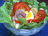 Recette Coupe de salade jardin