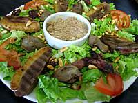Recette Assiette de salade landaise aux rillettes