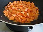 Purée de champignons aux patates douces - 3.2