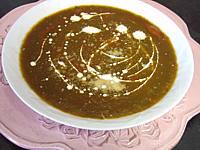 Recette Velouté d'épinards aux tomates