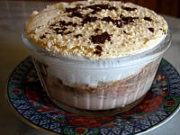 Recette Lait fraises au chocolat et meringue