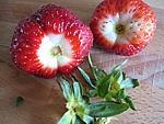 Lait fraises au chocolat et meringue - 1.2