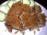 Recette Assiette de kebbé