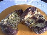 Recette Rognons de porc au coulis de poivron