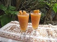 Recette Cocktail de melon au pineau des Charentes