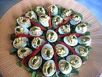 Recette Assiette d'oeufs de caille au rocamadour