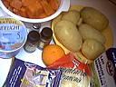 Ingrédients pour la recette : Potiron halloween