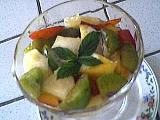 Recette Salade de fruits au génépi