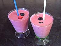Recette Yaourts glacés aux fruits rouges