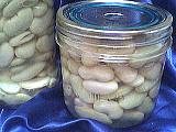 Recette Pots de stérilisation des haricots blancs