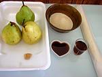 Ingrédients pour la recette : Tatin de poires au gingembre