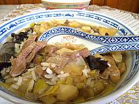 Recette Soupe d'agneau au riz façon chinoise
