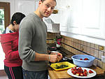 Salade de fraises aux épices - 1.2
