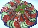 Recette Assiette de langue en salade