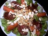 Recette Salade tiède de rognon