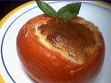 Recette Assiette de tomates soufflées au fromage