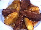 Recette Magret de canard aux pommes