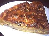 Recette Part de tarte au roquefort et poires
