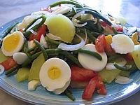Recette Haricots verts en salade
