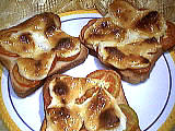 Recette Tartines au fromage