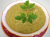 Sauces : Ramequin de sauce guacamole