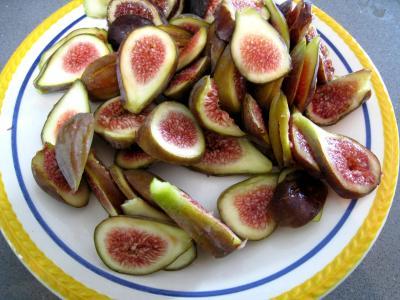 Pain semoule aux figues fraîches - 8.3