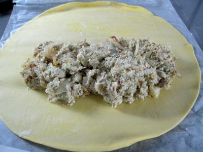 Chaussons au chou-fleur et au thon - 16.1