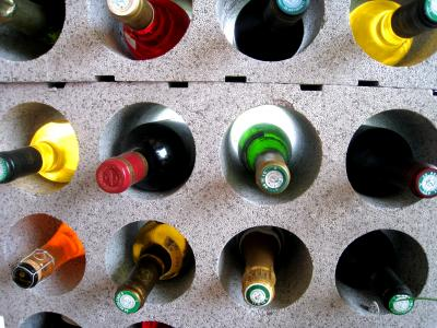 Photo : Les vins