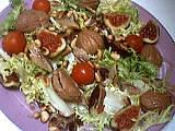 Salade de châtaigne et hareng