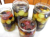 Raisins au vinaigre