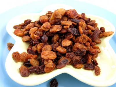 Photo : Raisins secs