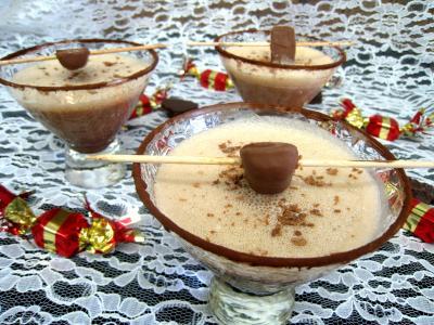 Recette Cocktail au chocolat et au caramel