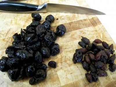 Gressins aux olives et à l'emmental - 1.1