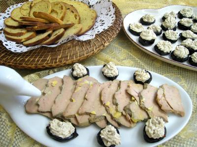 Recette Foie gras aux pruneaux