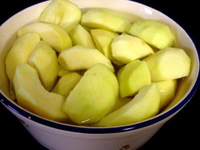 Chapon aux pommes et légumes avec sauce au champagne et armagnac - 2.1