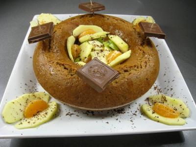 coriandre graines : Gâteau couronne aux épices et au miel